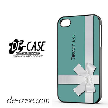 Tiffany Blue Box Inspired DEAL-11231 Apple Phonecase Cover For Iphone 4 / Iphone 4S