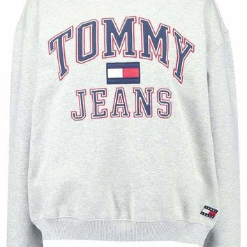 DCCKBA7 Tommy Hilfiger Fashion Casual Long Sleeve Sport Top Sweater Pullover Sweatshirt