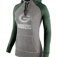 Nike Platinum All Time Pullover (NFL Packers) Women's Training Hoodie