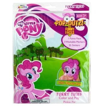 My Little Pony Pop-Outz! Funny Faces: Case of 24
