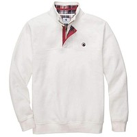 Thomas Pullover in Off White by Southern Proper