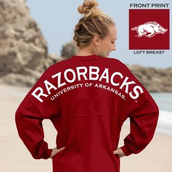Razorbacks University of Arkansas - Spirit Jersey®
