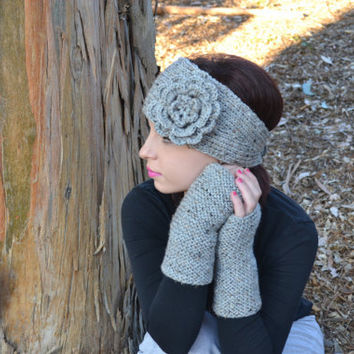 Knitted Headband - Headwarmer - Earwarmer - Headwrap - Unisex - Winter Fun - Gifts for Him and Her