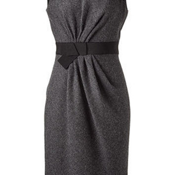 STYLEBOP.com | Charcoal Gathered Shift Dress by PAULE KA | the latest trends from the fashion capitals of the world