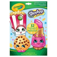 Crayola® Coloring and Activity Pad - Shopkins