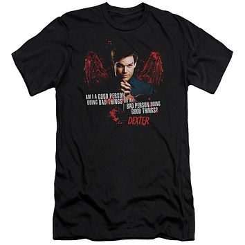 Dexter - Good Bad Premuim Canvas Adult Slim Fit 30/1