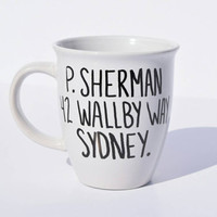 Coffee mug- P. Sherman 42 wall by way sydney, Finding Nemo quote, Funny Quote,  movie quotes, dory quotes