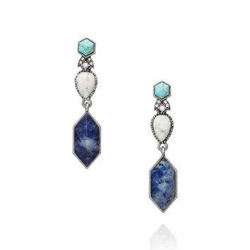 Chloe + Isabel Turkish Delight Convertible Drop Earrings