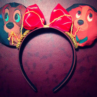 Lady and the Tramp Mickey ears