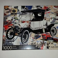 Ford Model A Classic Ford and Advertising Jigsaw Puzzle