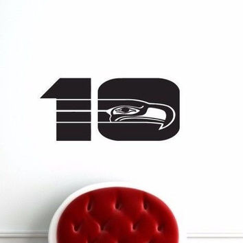 Seattle Seahawks NFL Team Superbowl Wall Decal Gm0584 FRST