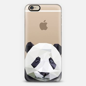 panda - transparent iPhone 6 case by Sophie Rousseau | Casetify