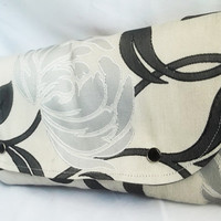 Floral Clutch  Floral print clutch  clutch bag by ACAmour on Etsy