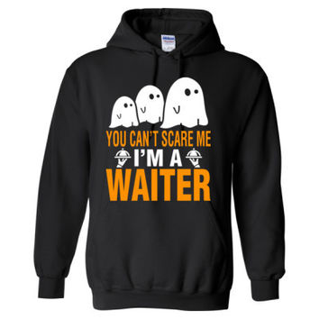 Halloween You Cant Scare Me I Am A Waiter - Heavy Blend™ Hooded Sweatshirt
