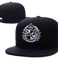 BARONL Dangan ronpa Danganronpa Logo Adjustable Snapback Embroidery Hats Caps
