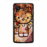 Obey Hello Kitty Nexus 5 Case
