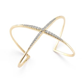 Elizabeth and James Pavé Windrose Cuff