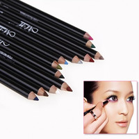 12 Colors Eye Make Up Eyeliner Pencil Waterproof Eyebrow Beauty Pen Eye Liner Lip sticks Cosmetics Eyes Makeup#M01181