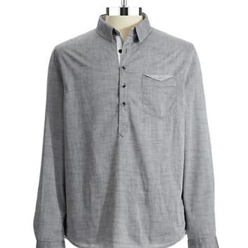 Guess Rustic Popover Sport Shirt