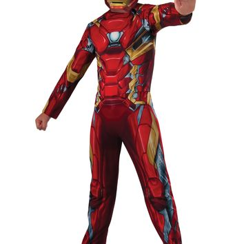 Rubies Costume Captain America Civil War Value Iron Man Costume Large