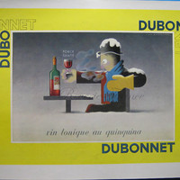 Original French Vintage Ad - Dubonnet 1935