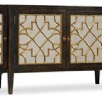 Console Sayer 4-Door Mirrored, Buffets & Sideboards