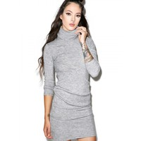 KYLIE TURTLENECK DRESS