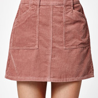 Kendall and Kylie Corduroy Utility Skirt at PacSun.com
