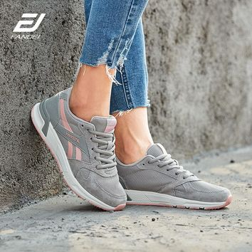 FANDEI Winter Running Shoes For Women Men Outdoor Sport Shoes Woman Sneakers Men Zapatillas Hombre Ladies Shoes Suede Leather PE