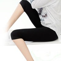 Stretched Fitness short legging