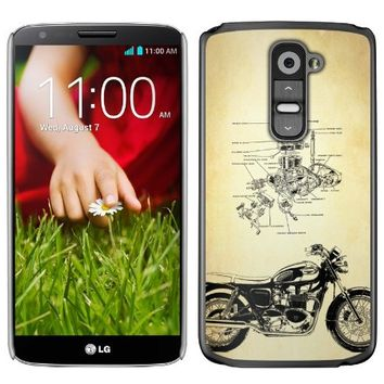 Cellet Motorcycle Proguard Case for LG G2 (GSM Version, Not for Verizon LG G2)