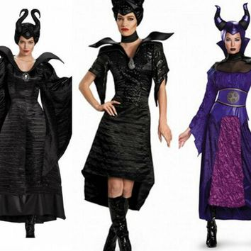 Maleficent Adult Women Dress Fancy Costume Halloween/Cosplay