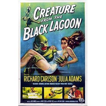 Creature From The Black Lagoon Movie Poster Standup 4inx6in