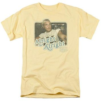 """Dazed and Confused """"Alright Alright"""" Tee Shirt - Adult"""