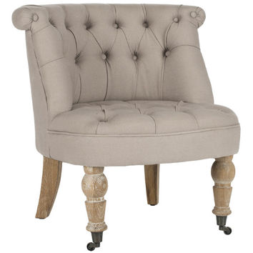 Safavieh Carlin Tufted Slipper Chair