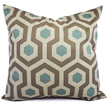 20 By 20 Decorative Pillow Covers : 2 Decorative Throw Pillow Covers - Grey from CastawayCoveDecor