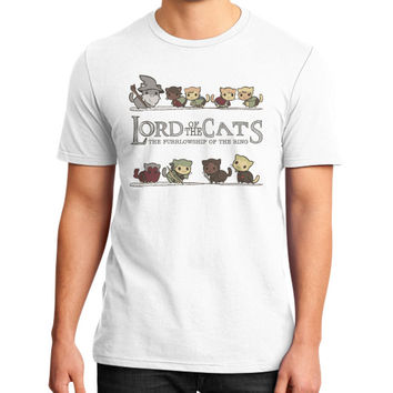 Lord of the cat District T-Shirt (on man)