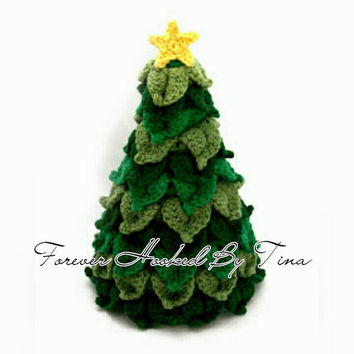 Tree Home Decor, Crochet Christmas Tree, Handmade Tree accent