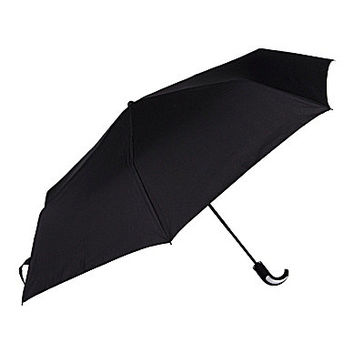Roundtree & Yorke 2-Layer Compact Umbrella - Black