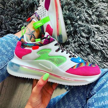 NIKE AIR MAX 720 OBJ Atmospheric pad running shoes