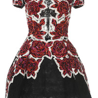 Floral Embroidered Lace Dress | Moda Operandi