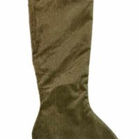 Faux Horsehair Stocking Sage