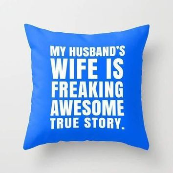 Husband Wife Pillow