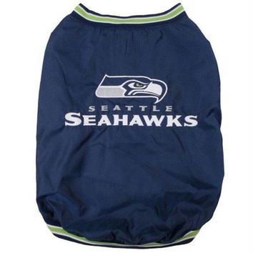 ONETOW Seattle Seahawks Pet Sideline Jacket