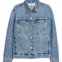 Denim jacket - Denim blue - Men | H&M GB