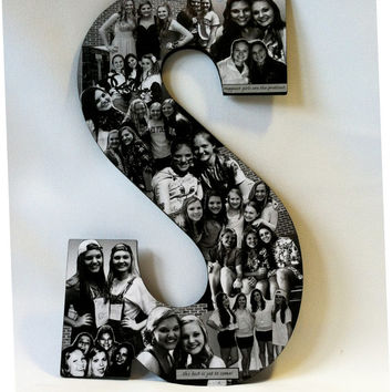 Professional Custom Photo Engagement Collage letter, Wedding Collage Alphabet Letter, Bride and Groom Alphabet Collage