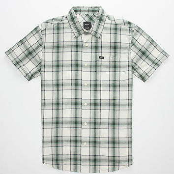 Rvca Run On Mens Shirt Silver  In Sizes