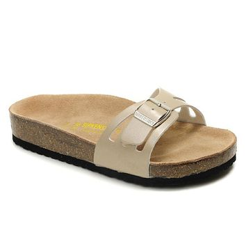 Birkenstock Molina Sandals Artificial Leather Bisque - Ready Stock