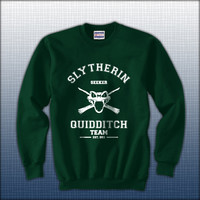 Slytherin Quidditch team SEEKER Unisex Crewneck Sweatshirt