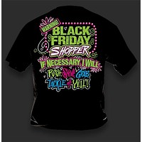 Sweet Thing Funny Warning Black Friday Shopping Shop Girlie Bright T-Shirt